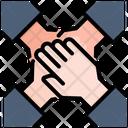 Hand Teamwork Partnership Icon