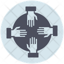 Business Collaboration Team Icon