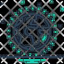 Universal Gloabal World Icon