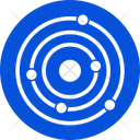 Universal Orbit Planet Icon