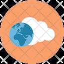 Icloud Worldwide Network Icon