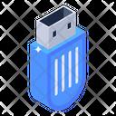 Usb External Storage Flash Drive Icon