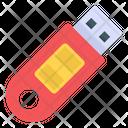 Universal Serial Bus Data Usb External Storage Icon