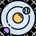 Universe Planetary System Orbit Icon