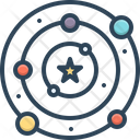 Universe Cosmos Totality Icon