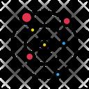 Universe Space Radar Icon