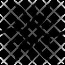 Universe System Black Icon