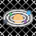 Universe Planet Astronomy Icon