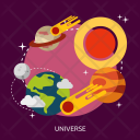 Universe Space Science Icon