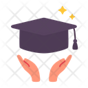 University Degree Cap Icon