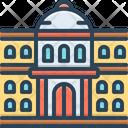 University Governmental Architecture Icon