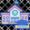 University Collage Building Icon