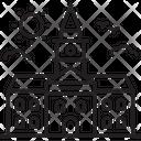 University Campus Collage Icon