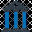 University Courthouse Bank Icon