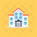 University Building Classrooms Icon