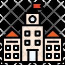 University Institution Building Icon