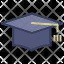 University Graduation Toga Icon