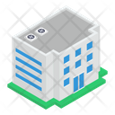 University Building Condominium Residential Building Icon