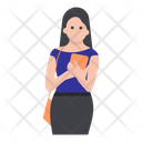 University Girl Avatar Icon