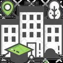 University Location School Location Location Icon