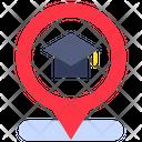 University Location Location Map Icon