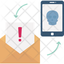 Junk Mail Malicious Mail Malware Mail Icon