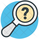 Unknown Search Searching Icon