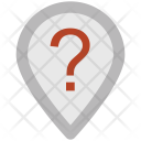 Unknown Location Pin Icon