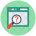 Unknown Search Website Icon