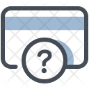 Card Number Unknown Icon