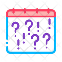 Calendar Question Book Icon