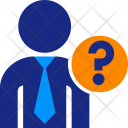 Executive Question Business Icon