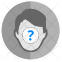 Unknown Question Person Icon