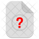 Unknown Operation Question Icon