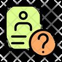 Unknown Id Card Id Card Help Id Card Icon