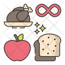 Unlimited Food Icon