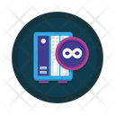 Unlimited storage Icon