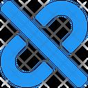 Unlink Link Url Icon