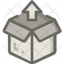 Unloading Box Icon