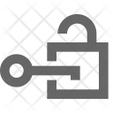 Unlock Access Decryption Icon