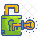 Unlock Lock Key Icon