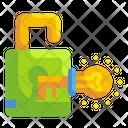 Unlock Lock Key Icon