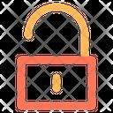 Padlock Open Security Icon