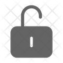Unlock Security Unlocked Icon
