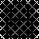 Padlock Unlock Shield Icon