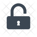 Unlock Password Security Icon