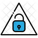 Lock Unlock Alert Icon