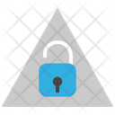 Lock Unlock Alert Icon