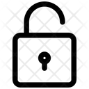 Unlock Lock Locked Icon
