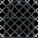 Unlock Sign Padlock Icon